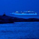 Natt på Runde. Foto: Knut Werner Alsén
