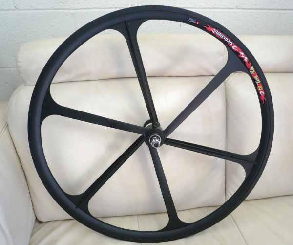 "Teny Mag Alloy 26"" Bike Mountain Front Wheels - Black"