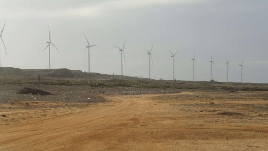 Vader Piet Windpark Aruba