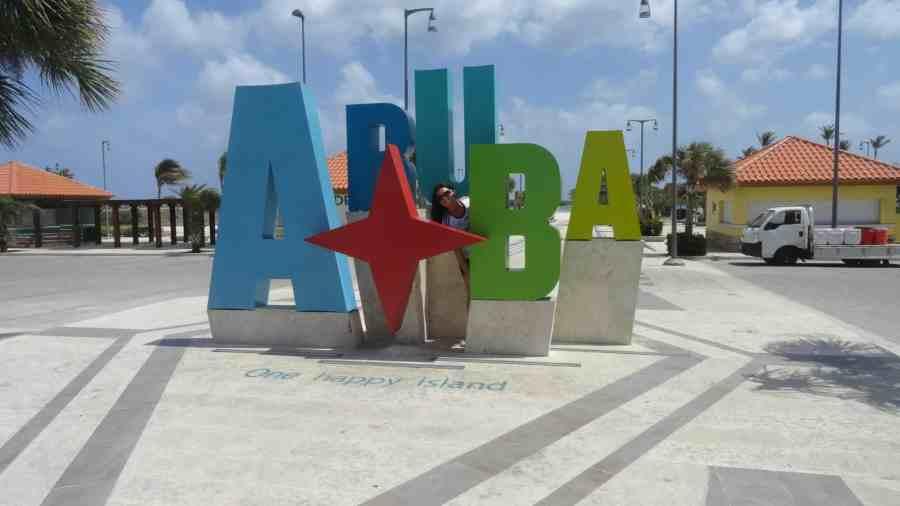 letreiro Aruba