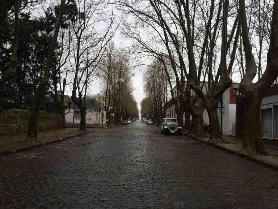 Ruas de Colonia del Sacramento