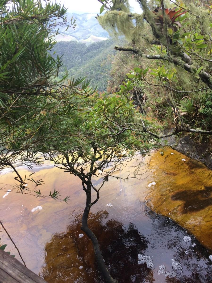 Janela do Céu vista de cima Parque Estadual do Ibitipoca