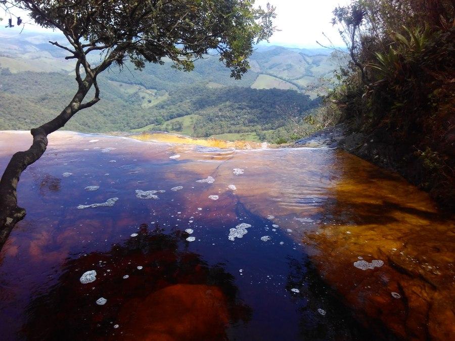 Vista do platô da cachoeira Janela do Céu Parque Estadual do Ibitipoca