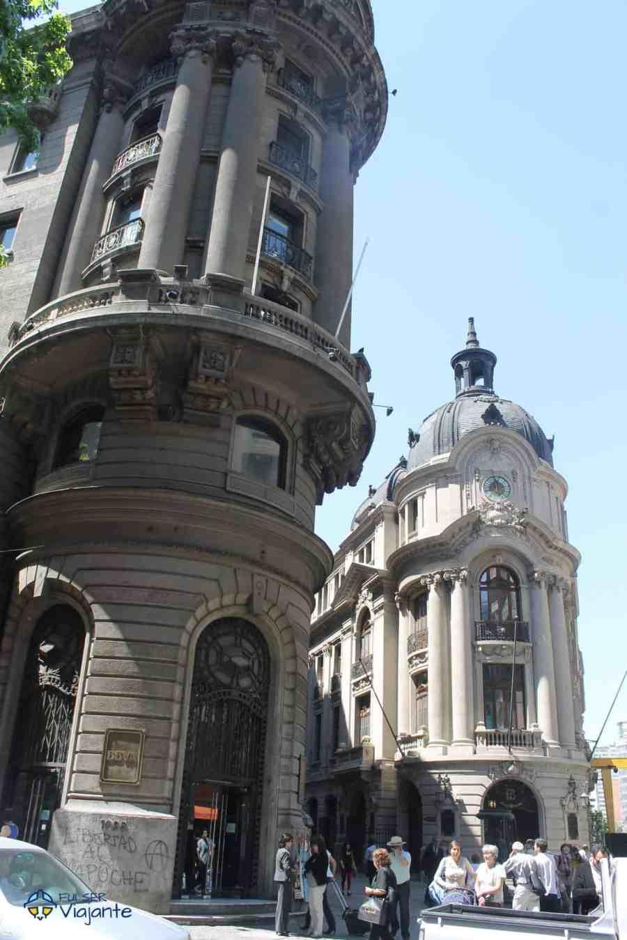 Peatonal Ahumada Santiago