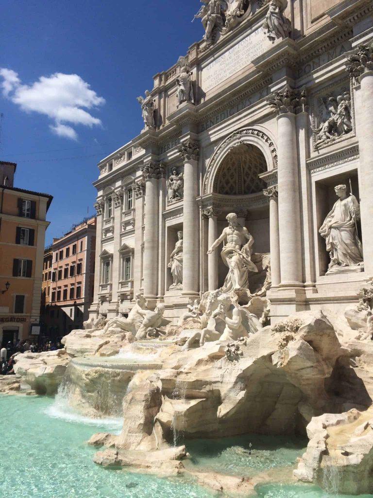 Praças, fontes e obeliscos de Roma
