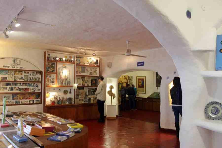 Museu Casapueblo - loja de souvenir