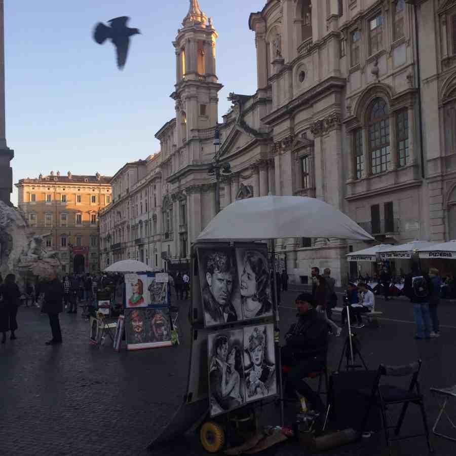 Piazza Navona - Praças, fontes e obeliscos de Roma