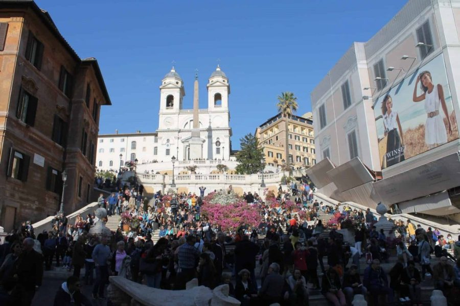 Piazza di Spagna - Praças, fontes e obeliscos de Roma