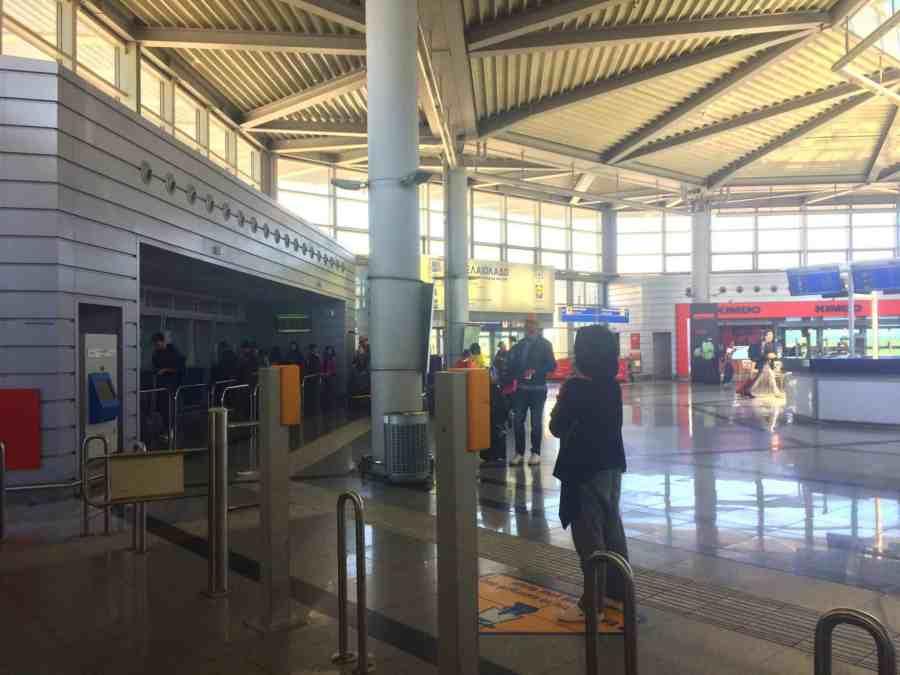 Do aeroporto de Atenas ao centro da cidade