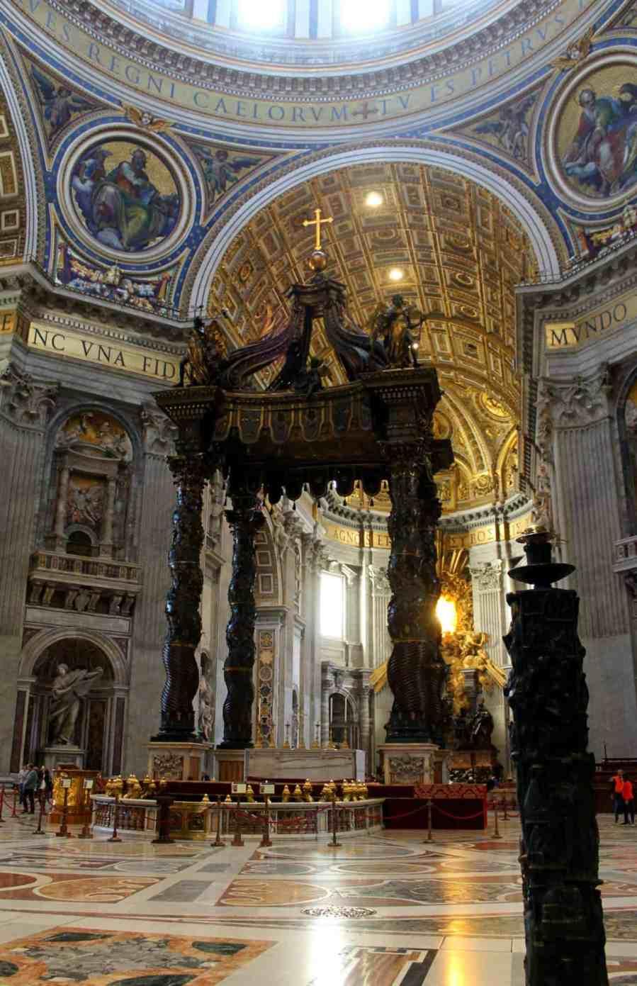Visita à Basílica de São Pedro