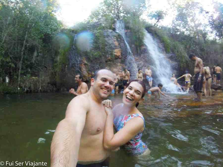 Véu de Noiva - Cachoeira dos Cristais - Chapada dos Veadeiros