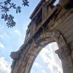 Arco de Adriano - Atenas - O que fazer em uma conexão longa em Atenas