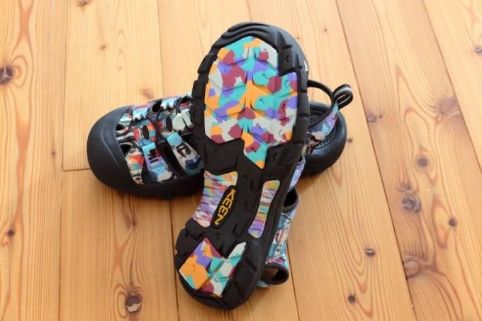 NEWPORT H2(KEEN) 靴底のデザイン