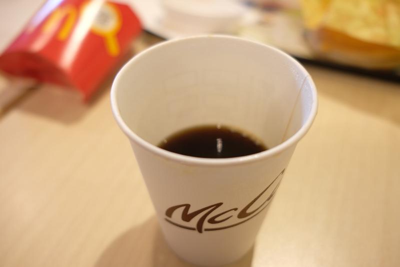 マクドナルド『プレミアムローストコーヒー』