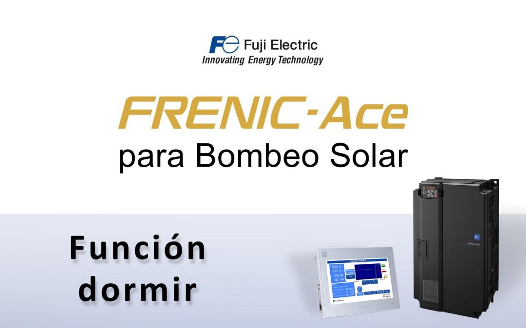 ¡Nuevo videotutorial! FRENIC-Ace para Bombeo Solar: Función Dormir