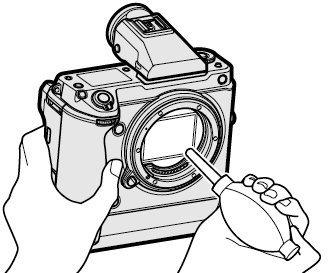 Cleaning the Image Sensor