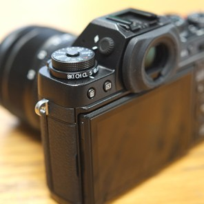 Fujifilm X-T1 ISO selection dial with added Drive