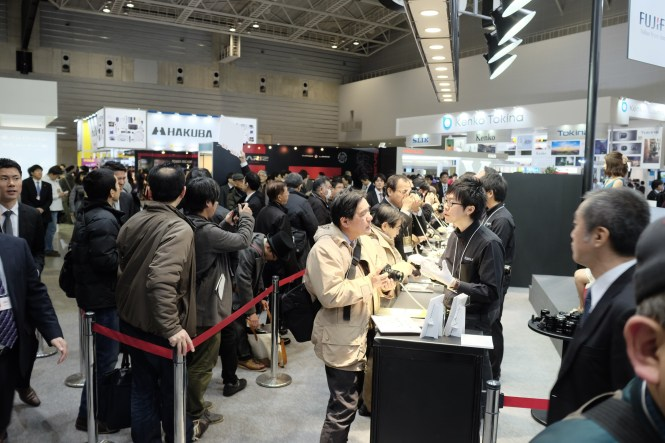 Many customers got their hands on the X-T1