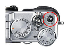 Fujifilm X-E2 function button