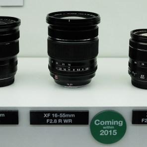 FUJINON XF16-55mmF2.8 zoom lens