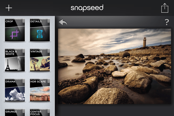 If you have an iOS or Android smartphone or tablet, you just have to pick up a copy of Snapseed. Don't let the price deter you: it's free, which saves you some money for the other goodies in this overview!
