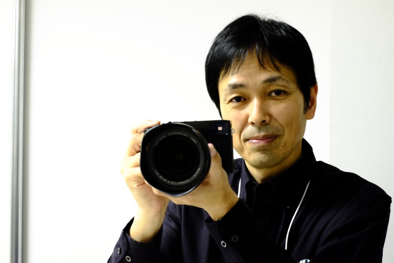 Mr Soga, the man behind the product planning team for X mount lenses
