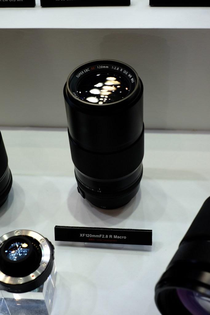 The new XF120mmF2 Macro