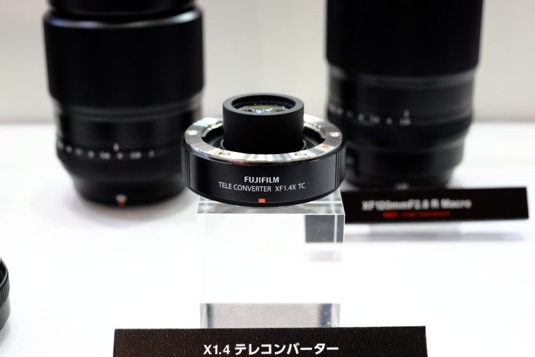 The design of the XF1.4 X TC means that it will only fit  on lenses that have enough space between the camera and the rear elements