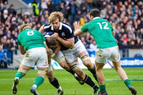 RBS Six Nations- Scotland v Ireland- Murrayfield, Edinburgh Scotland's Richie Gray