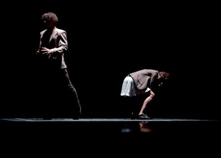 """""""Derrumbe"""" by Miguel Altunaga. Dancers: Mario Sergio Elias and Martina Ortega"""