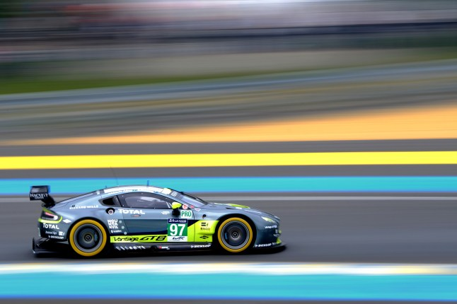 24 Hours of Le Mans Test - no97 Aston Martin Racing Vantage V8