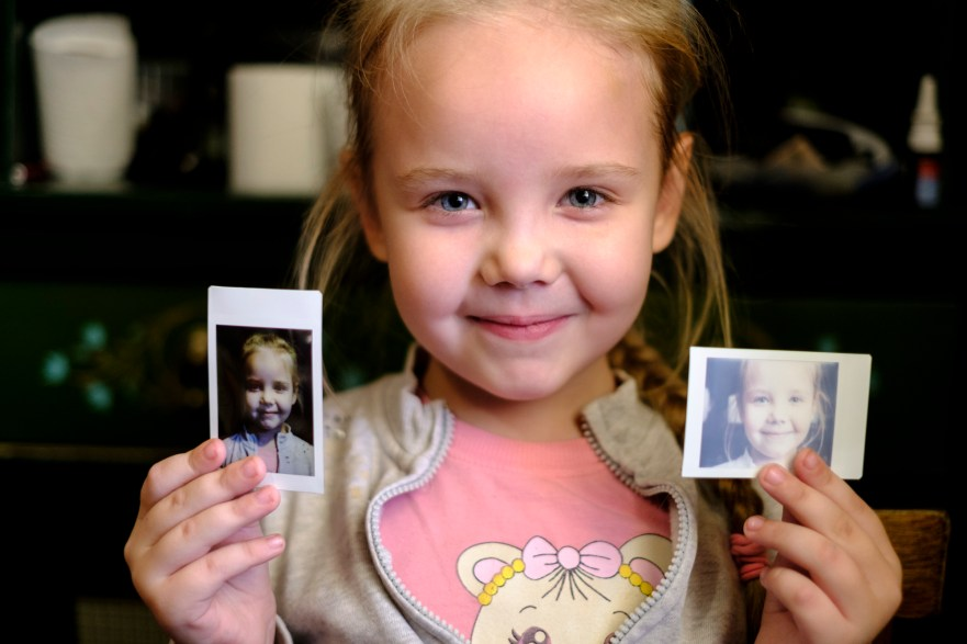 Some of our media team were taken in by a Russian family and joined them for a big meal. instax proved to be really popular and it was a pleasure to leave them with a dozen little prints.