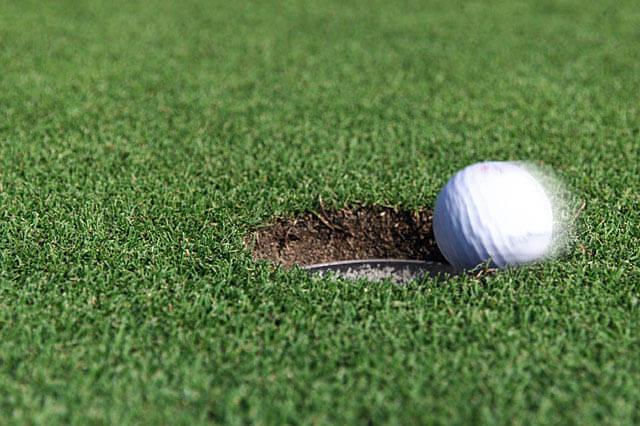 ゴルフボール ラインの書き方
