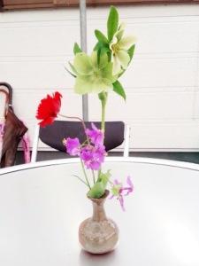 きれいなお花でおもてなし