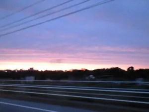 夕焼け 2015-06-09