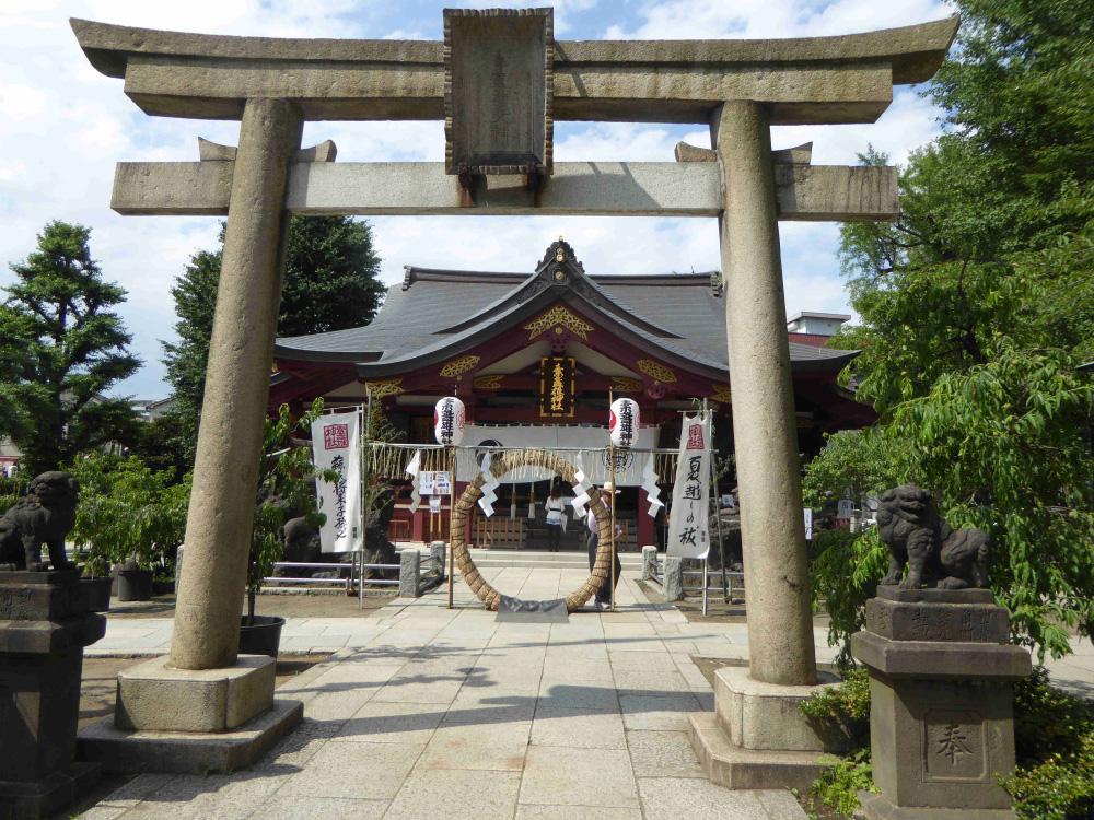 南千住・素戔嗚神社 | 今日も日暮里富士見坂 / Nippori Fujimizaka day ...