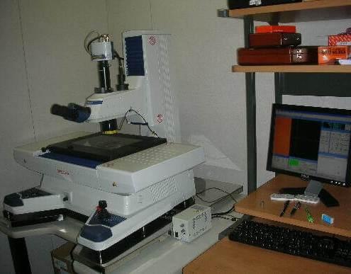 保有設備 高精度測定顕微鏡