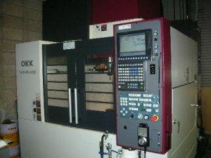 有限会社フジムラのマシニングセンタ加工 OKK製 VM4Ⅲ
