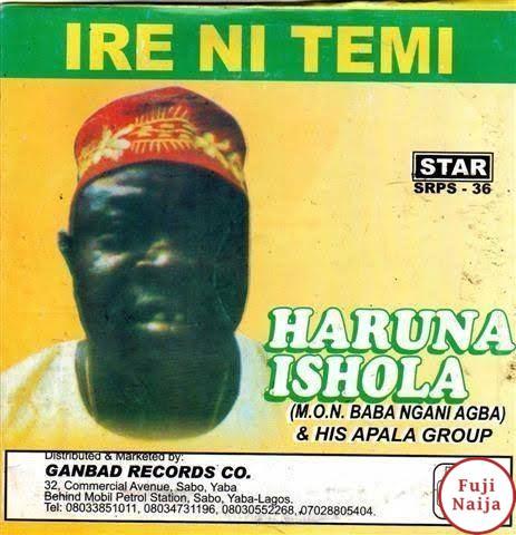 Haruna Ishola – Ire Ni Temi