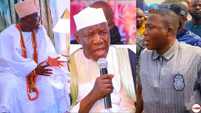 Sheik Muyideen Ajani Bello Blast Ooni of Ife For Going to Abuja