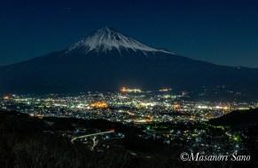 月夜の富士山2018.3.2