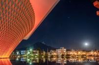 世界遺産センターカラーチェンジ