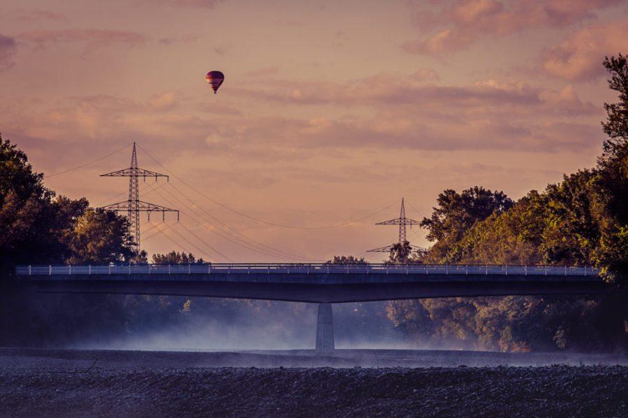 Lechsteine | Wolken | Heißluftballon | Fujifilm | X-T1 | 50-140mm