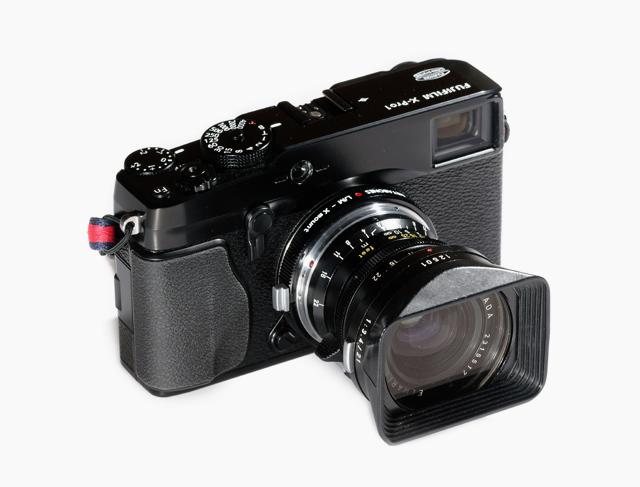 Adaptador de Metabones Leica M a Fujifilm X