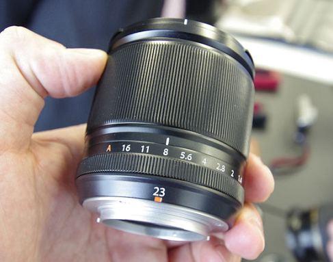 La lente Fujinon XF 23 mm f/1.4 R llegará en octubre