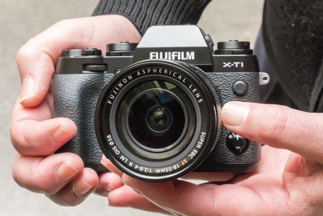 Fuji X-T1 frente