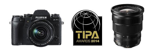 TIPA 2014 para Fujifilm