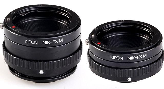 Adaptador macro Kipon a Fuji X
