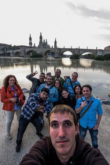 Selfie grupal por Adrián Fernández López (LerKreL).