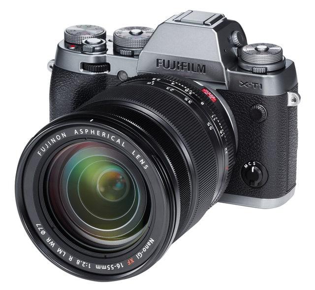 X-T1 y XF 16-55mm f/2.8, un conjunto sellado ideal.